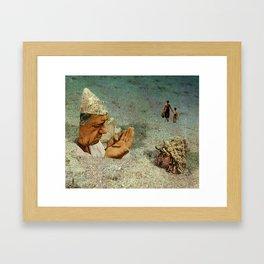 Bottom of the Sea Framed Art Print