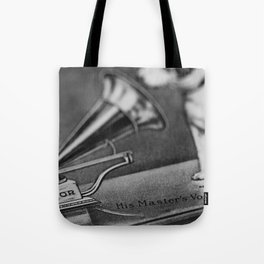 His Master's Voice - Nipper The Dog Tote Bag