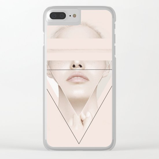 Triangle 4 Clear iPhone Case