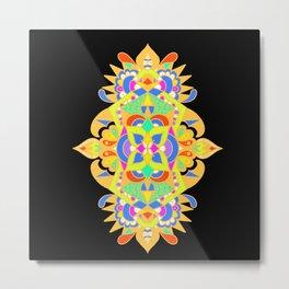 Unique mandala Metal Print