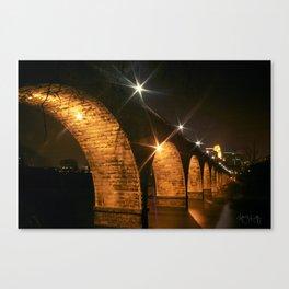 Minneapolis, MN Bridge Canvas Print