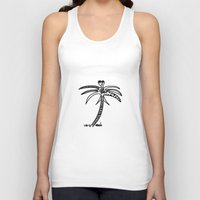 palm Tank Tops featuring -PALM by It's Bananas Studio