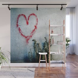 Minimal Flora Love Plant Wall Mural