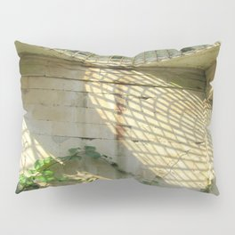 Nature Reclaiming Old Structure Pillow Sham