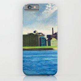 Roosevelt Island, New York City by Edward Hopper iPhone Case