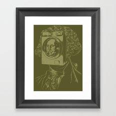 George WASHINGton Machine Framed Art Print