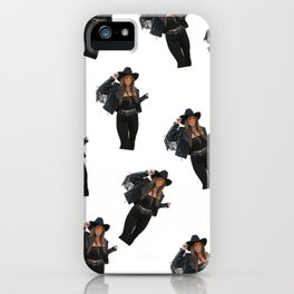 Vintage Cowgirl iPhone Case