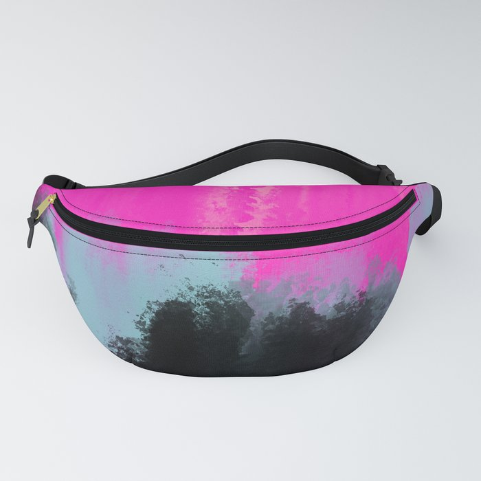 Abstract Paint Strokes Fanny Pack