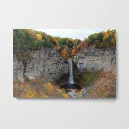 Taughannock Falls, New York Metal Print