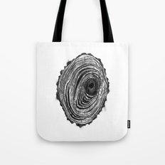Tree Rings - Dark Tote Bag