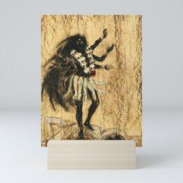 Hindu Kali 13 Mini Art Print