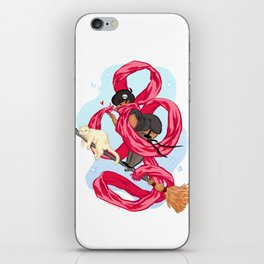 Scarf Witch  iPhone Skin
