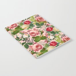 Vintage Botanicalia #illustration #pattern #botanical Notebook