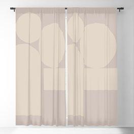 Contemporary Composition 17 Blackout Curtain