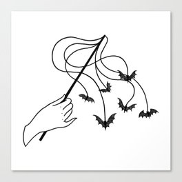 bat wand Canvas Print