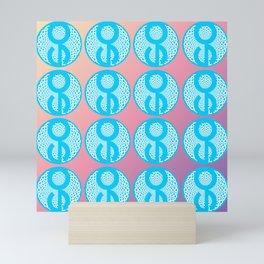 "Author's Project ""SA"" by Victoria Deregus Mini Art Print"