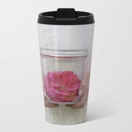 Trapped Rose Travel Mug