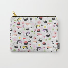 Kawaii Sushi Pattern Carry-All Pouch