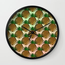 Pineapple living  Wall Clock