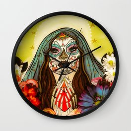 Pray for me Wall Clock