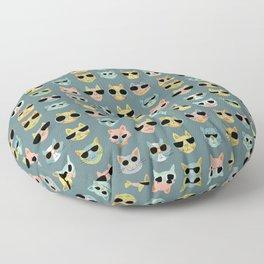 Cat Shades Floor Pillow