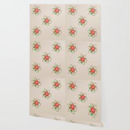 Red Pansies Wallpaper
