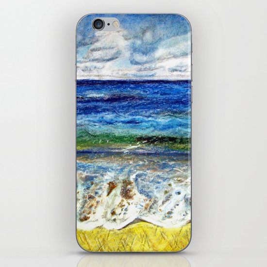 CRAYON LOVE - La mer iPhone & iPod Skin