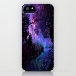 Fantasy Path Purple iPhone Case