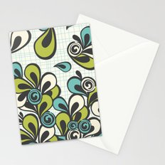 Mod Swoop Stationery Cards