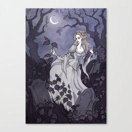 The Wild Swans (Eliza) Canvas Print