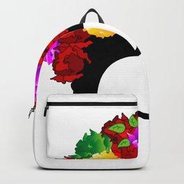 Frida minimalist flowers Backpack