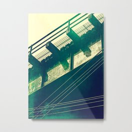 Portageville Bridge Metal Print