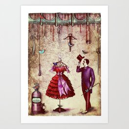 love and other fairytales Art Print