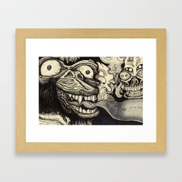 A wrong turn Framed Art Print