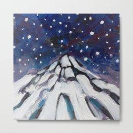 Night Mountain II Metal Print