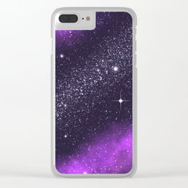 Ultra Violet! Clear iPhone Case