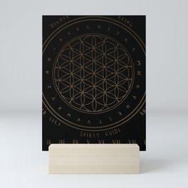 Shadow   Higher Dimensional Spirit Board (Ouija)  Mini Art Print