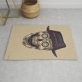 Mexican Cinema Skull Rug