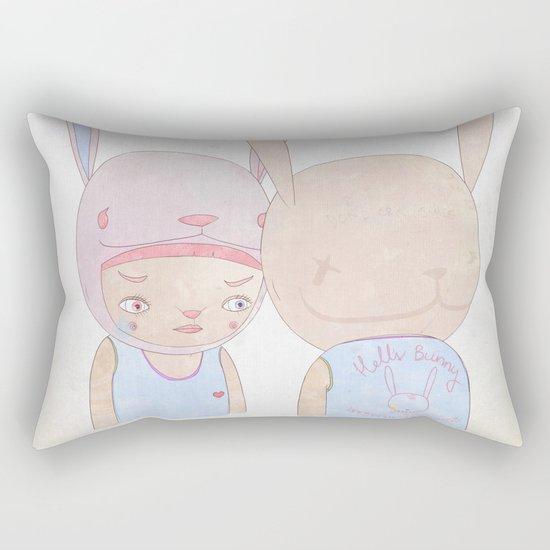 DEEP IN THE NIGHT DEEP IN THE MIST Rectangular Pillow
