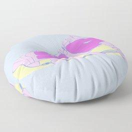SHUT UP Floor Pillow