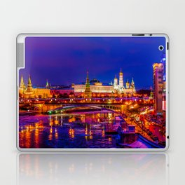 Panoramic View Of Moscow Kremlin Laptop & iPad Skin