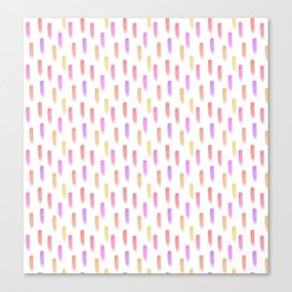 Bright watercolor pattern Canvas Print