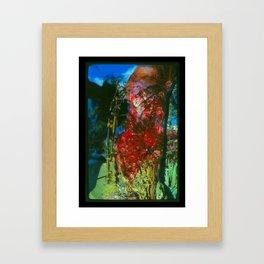 Bloody Jungle Framed Art Print