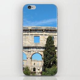 pula croatia ancient arena amphitheatre iPhone Skin