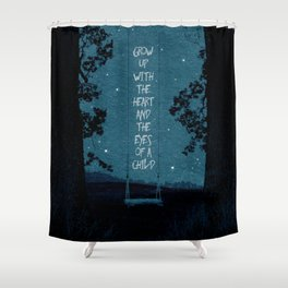 Heart of a Child Shower Curtain
