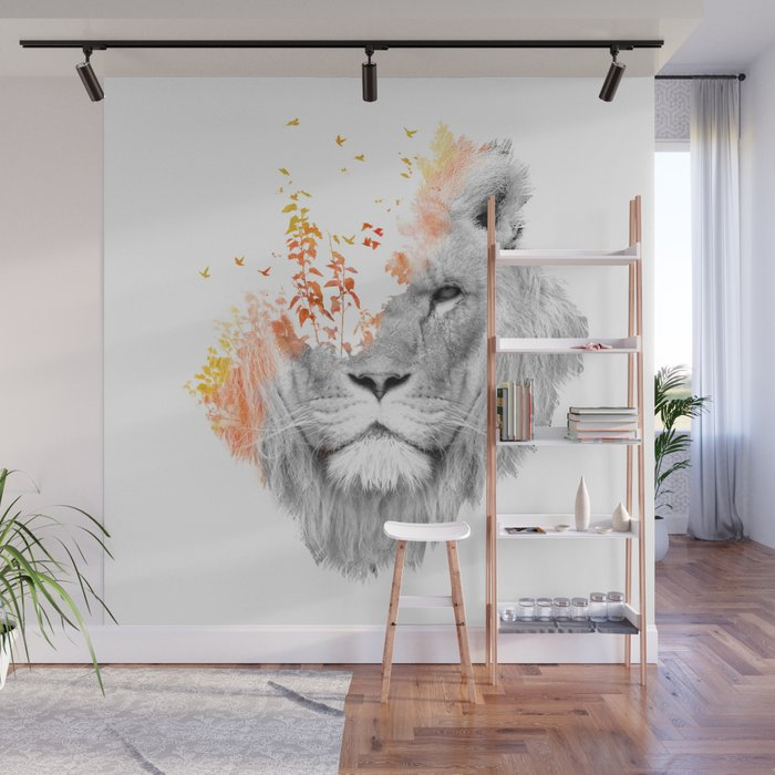 If I roar (The King Lion) Wall Mural