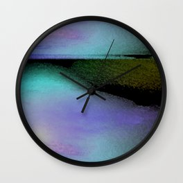 zen water 1 Wall Clock