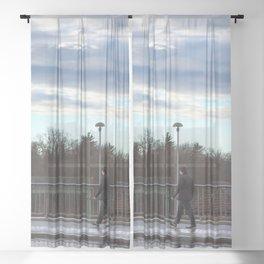 walkthrough Sheer Curtain
