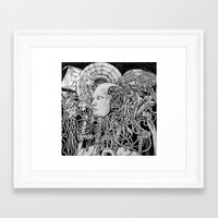 robot Framed Art Prints featuring Robot by Walid Aziz