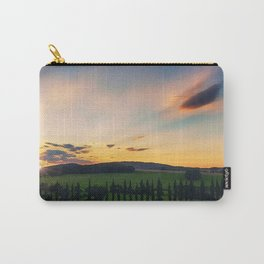 Tuscany, Italy Sunset (Last Glimpse) Carry-All Pouch